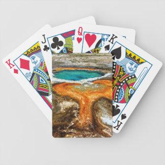 Piscina la termal de Yellowstone Barajas De Cartas