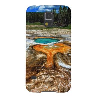 Piscina la termal de Yellowstone Carcasa Para Galaxy S5