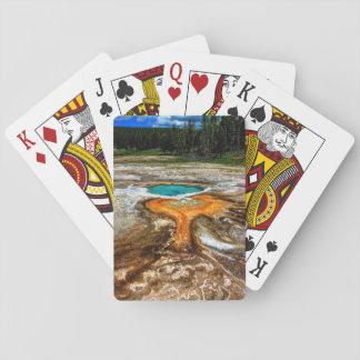 Piscina la termal de Yellowstone Naipes