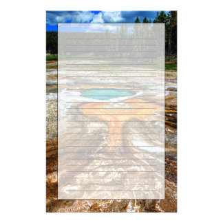 Piscina la termal de Yellowstone Papeleria