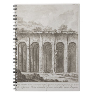 Piscina Mirabilis, from 'Avanzi della Antichita es Notebook