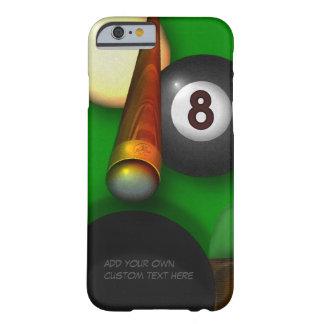 Piscina y billares de ocho bolas funda para iPhone 6 barely there