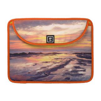 Piscinas de la marea de los acantilados de la fundas para macbooks