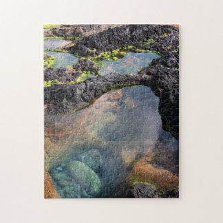 Piscinas de marea rompecabezas con fotos