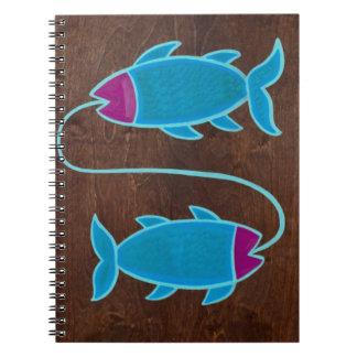 Piscis 2008 spiral notebooks