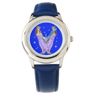 Piscis el reloj del diseño de la muestra del