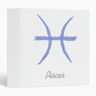 """Piscis. Muestra de la astrología del zodiaco Carpeta 1 1/2"""""""