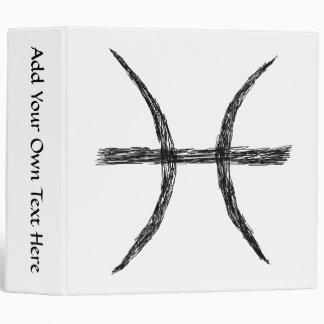 """Piscis. Muestra de la astrología del zodiaco. Carpeta 2"""""""