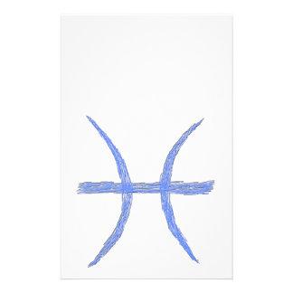 Piscis. Muestra de la astrología del zodiaco Tarjetas Informativas