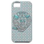 Piscis pescan el iPhone 5 de las joyas del Aquamar iPhone 5 Case-Mate Carcasas