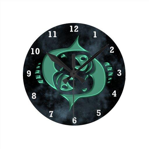 Piscis Relojes De Pared