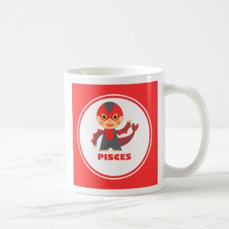 Piscis son mi muestra del zodiaco tazas de café