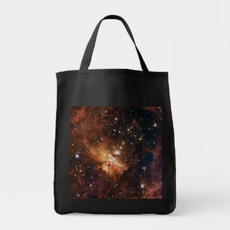 Pismis 24 brown starry sky tote bags