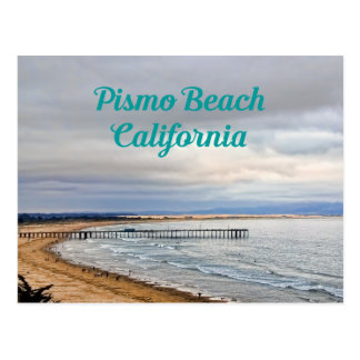 Pismo Beach, California Travel Postcard