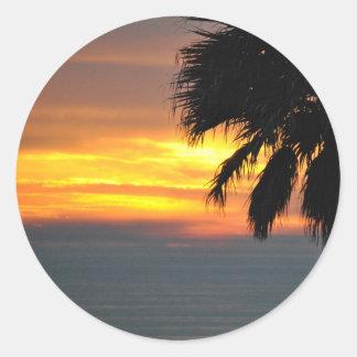 Pismo Beach Classic Round Sticker
