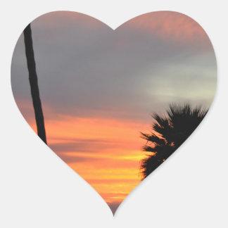 Pismo Beach Heart Sticker