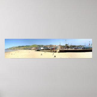 Pismo Beach Panorama Poster