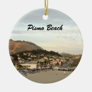 Pismo Beach Photo Holiday Christmas Ornament