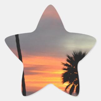 Pismo Beach Star Sticker