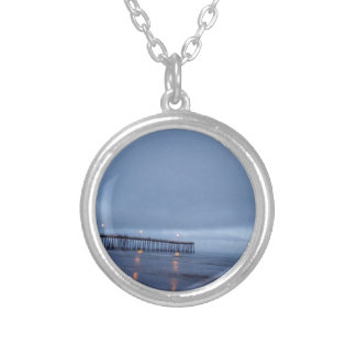 Pismo Silver Plated Necklace