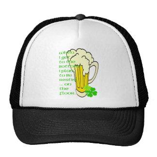 Piso alto de la taza gorra