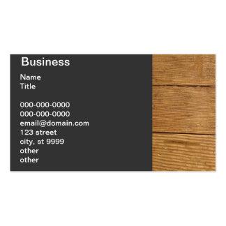 Piso de madera antiguo - abeto tarjeta de visita