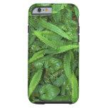 Piso del bosque, selva tropical de Quinault, NP Funda De iPhone 6 Tough