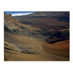 Piso del cráter de Haleakala, Maui, Hawaii, los E. Tarjetas Postales