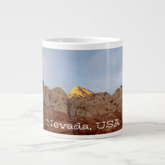 Piso del desierto al techo; Recuerdo de Nevada Taza Grande