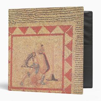 Piso que representa a un gladiador, de Flace