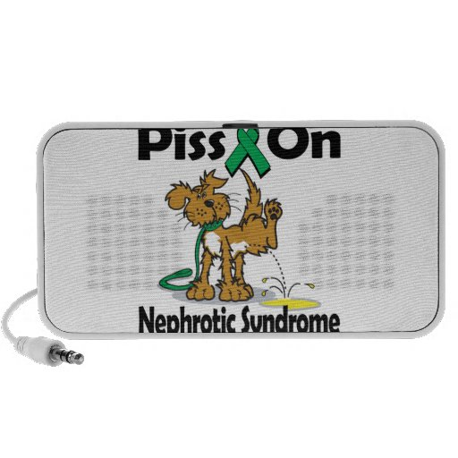 Piss On Nephrotic Syndrome iPod Speaker