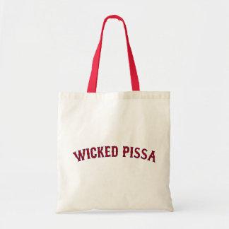Pissa travieso bolsas de mano
