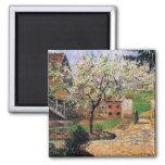 Pissaro: Flowering Plum Tree by Camille Pissaro Magnets