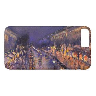 Pissarro Boulevard Montmartre At Night Vintage Art iPhone 7 Plus Case