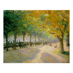 Pissarro's 'Hyde Park' – Poster