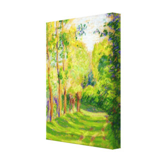"Pissarro's ""Landscape at St Charles"" Stretched Canvas Prints"