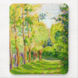 "Pissarro's ""Landscape at St Charles"" - Mousepad"