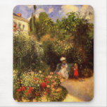 "Pissarro's ""The Garden at Pontoise"" - Mousepad"