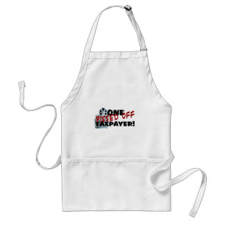 PISSED OFF TAXPAYER ADULT APRON