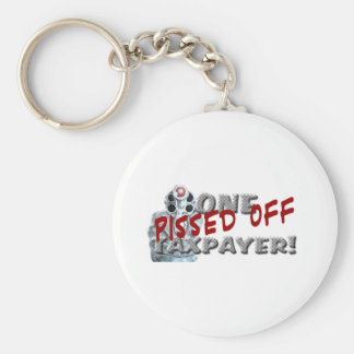 PISSED OFF TAXPAYER DK KEYCHAIN