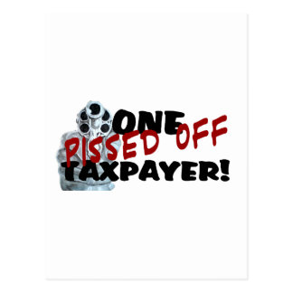 PISSED OFF TAXPAYER POST CARDS