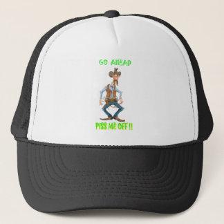 Pissed Off Western Cowboy Trucker Hat