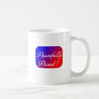 Pissed pacífico tazas de café