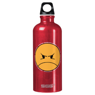 PISSYHATESTHEWORLD 001b (ON RED) SIGG Traveler 0.6L Water Bottle