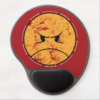 PISSYHATESTHEWORLD 002a (RED MOUSEPAD) Gel Mouse Pad