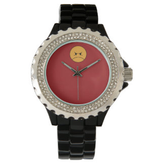 PISSYHATESTHEWORLD WATCH - STYLE 2 (ON RED)