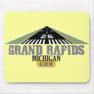 Pista 26 - Grand Rapids Michigan GRR Alfombrillas De Ratón