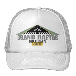 Pista 26 - Grand Rapids Michigan GRR Gorro De Camionero