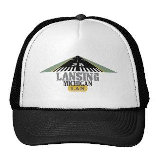 Pista 28 - LAN de Lansing Michigan Gorro