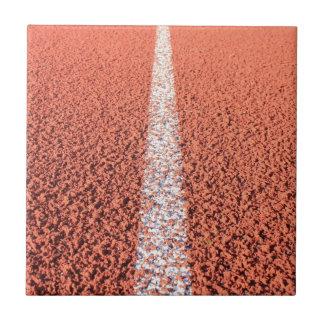 Pista atlética - pista de funcionamiento azulejos